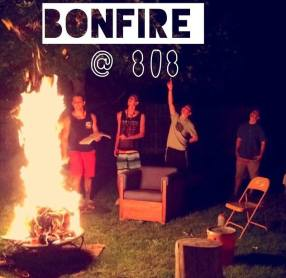 CAMPFIRES: Many random weekend events pop up. Some campfires or board games or movie nights, etc.. These are fun things that help students further connect and build relationships!