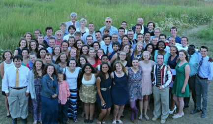 SUMMER TRAINING PROGRAM: Here is a picture of all the students and staff that were part of the the 2015 STP at Snow Mountain Ranch in Granby, Colorado.